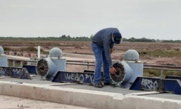Servicios Públicos realiza mantenimientos correspondientes al carcamo de rebombeo para estar listo en temporada de lluvias