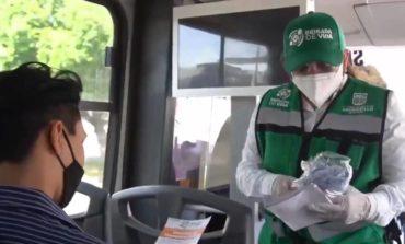 Supervisa Celida López medidas preventivas en transporte público