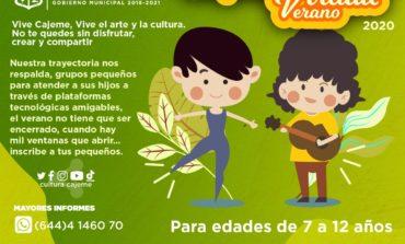 INVITAN A CAMPAMENTO VIRTUAL DE VERANO 2020 DE LA CASA DE LA CULTURA DE CAJEME