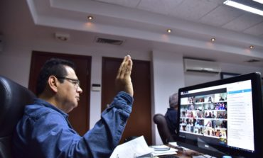 PARTICIPA ALCALDE MARISCAL ALVARADO EN LA PRIMERA ASAMBLEA PLENARIA ORDINARIA DE LA CONFERENCIA NACIONAL DE SEGURIDAD PÚBLICA MUNICIPAL 2020