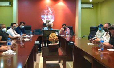 Se reúne Partido del Trabajo con Distrito de Riego Del Río Yaqui para analizar propuesta del acuaférico tramo oriente en Hermosillo.