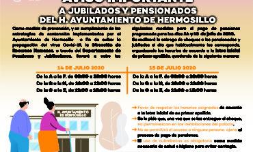 Para reforzar las medidas preventivas sanitarias y evitar aglomeración pagarán a jubilados y pensionados con horario escalonado