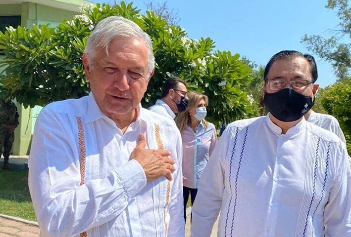 GESTIONA MARISCAL ALVARADO PAQUETE DE SOLICITUDES EMPRESARIALES, SOCIALES Y DE MEJORAS MUNICIPALES ANTE LÓPEZ OBRADOR