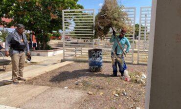 Rescata Ayuntamiento parque Linda Vista en Guaymas Norte