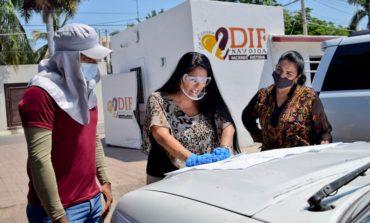 Parte Caravana de la Solidaridad a comunidades y colonias del municipio.