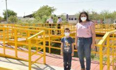Entrega Celida López obras de beneficio comunitario y supervisa acciones de bacheo en HMO