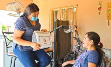 DIF municipal lleva terapias a las niñas y niños del programa chavalitos especiales