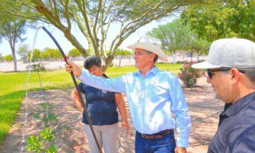 Presidente Ramón Díaz supervisa pozo que surtirá de agua al López Mateos y Faustino Félix