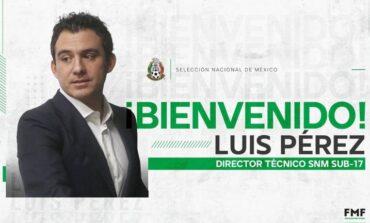 Luis Pérez, nuevo técnico de la Selección Sub-17