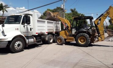 Retiran 42 metros cúbicos de escombro en la Yucatán