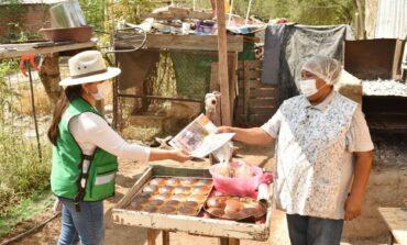 Atiende Celida López a familias del área rural oriente de Hermosillo en jornada de trabajo