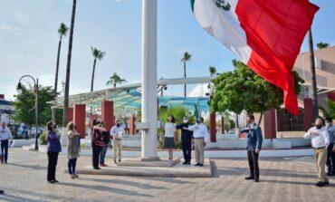 Encabeza alcaldesa Rosario Quintero ceremonia por Gesta de Niños Héroes