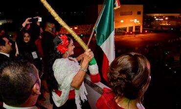 Alcaldesa Rosario Quintero Encabeza grito de Independencia