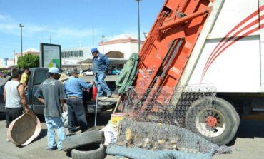Aprovechan descacharre en 48 colonias de Hermosillo
