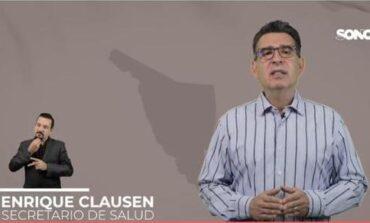 Si vas a salir, extrema precauciones por tu salud y la de los demás: Clausen Iberri