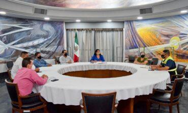 Llevan a cabo reunión del Comité Municipal de Salud.