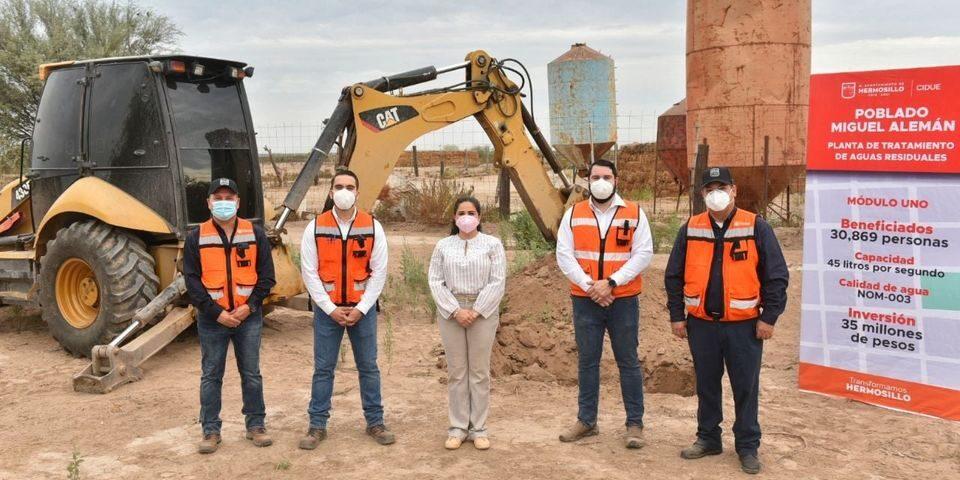 Inversión histórica de 62 mdp dignificará vida de familias en Miguel Alemán: Celida López