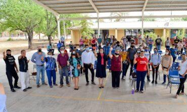 Formaliza alcaldesa Rosario Quintero construcción de la Universidad Benito Juárez en Masiaca