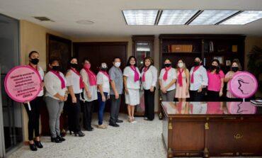 """Inician campaña """"Unidos contra el cáncer de mama"""""""