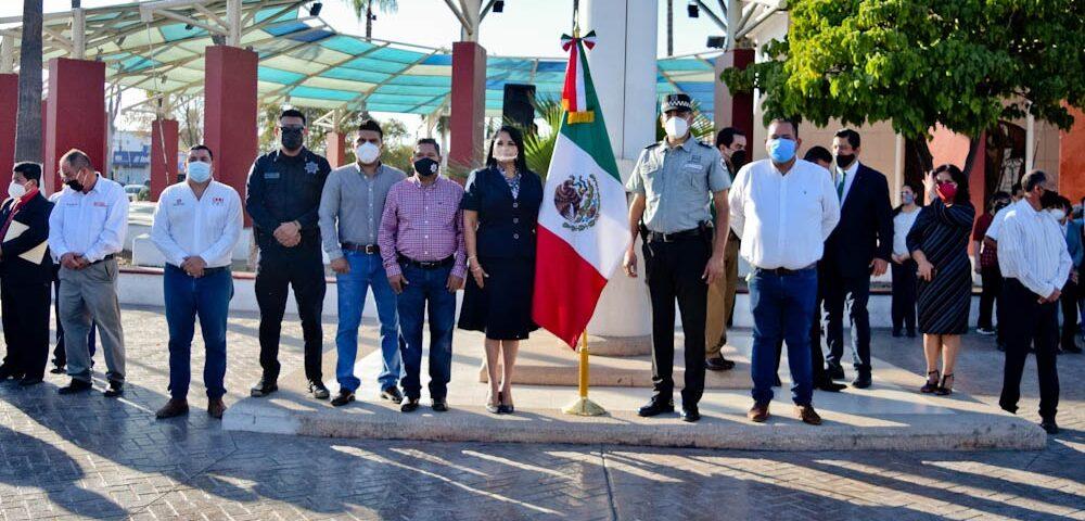 Conmemoran 110 aniversario de la Revolución Mexicana