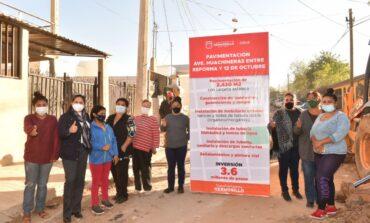 Pavimentaremos calles de la Jacinto López que estaban olvidadas: Celida López