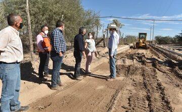 Supervisa Celida López avance de la Planta de Tratamiento de Aguas Residuales de Miguel Alemán