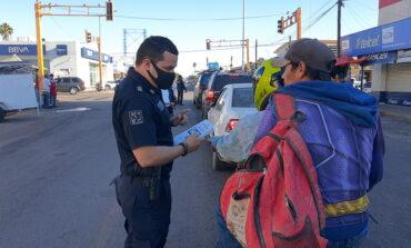 Realiza Seguridad Pública acciones concientización en prevención de accidentes