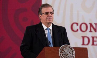 México iniciará vacunación contra COVID-19 en diciembre igual que Europa, anuncia Ebrard