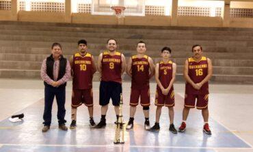 Finaliza torneo de basquetbol de primera fuerza resultando ganador la col 14 de enero
