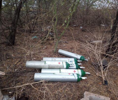 Localiza Policía Estatal de Sonora 7 cilindros robados en el IMSS Navojoa