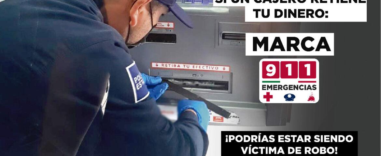 Alerta SSP por fallas en cajero automático en un banco de Hermosillo
