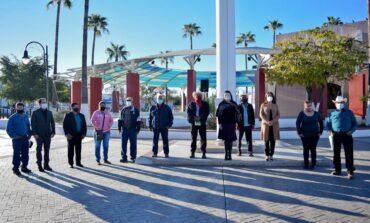 Encabeza alcaldesa Rosario Quintero ceremonia por 104 aniversario de la Constitución Mexicana