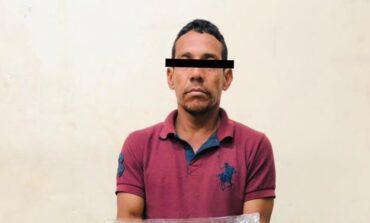 APREHENDE POLICÍA MUNICIPAL A HOMBRE POR  PRESUNTA PORTACIÓN DE ARMA PROHIBIDA