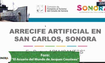 Promueve Cofetur conservación de especies marinas en el Foro el Acuario del Mundo de Jacques Cousteau: Sonora México la Perla del Mar de Cortés.