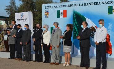 Ayuntamiento conmemora el 81 aniv de la Bandera de México