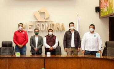 Morena, Partido del Trabajo, Verde Ecologista y Nueva Alianza Sonora impulsarán candidatura común de Alfonso Durazo